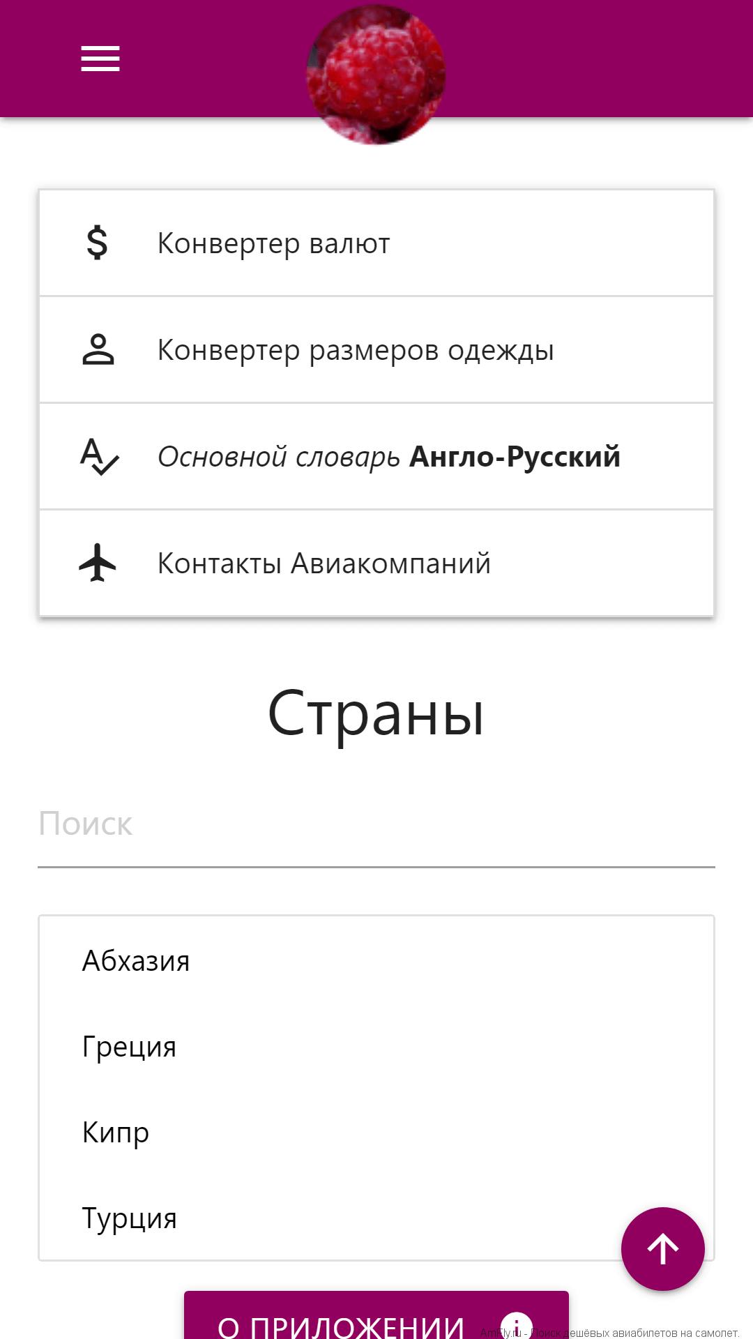 AmFly Справочник